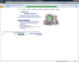 """CyberGuru Web 2000 formally Christopher Jeffery Computer Solutions (CyberGuru)"" (2000)"