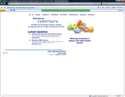 """Christopher Jeffery Computer Solutions (CyberGuru)"" (2001)"